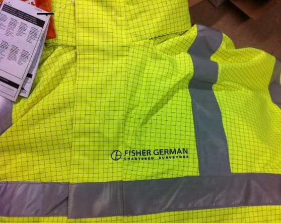 Fisher-German-Printind-on-Biz-7-and-Hi-Viz-Jackets-Left-Breast