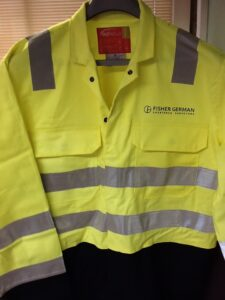 Fisher German Hi Viz Jacket
